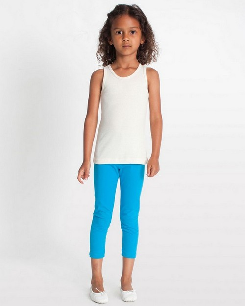 American Apparel 8128 Drop Ship Toddler Cotton Spandex Jersey Legging