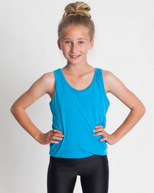 American Apparel BB208 Drop Ship Youth Poly-Cotton Tank