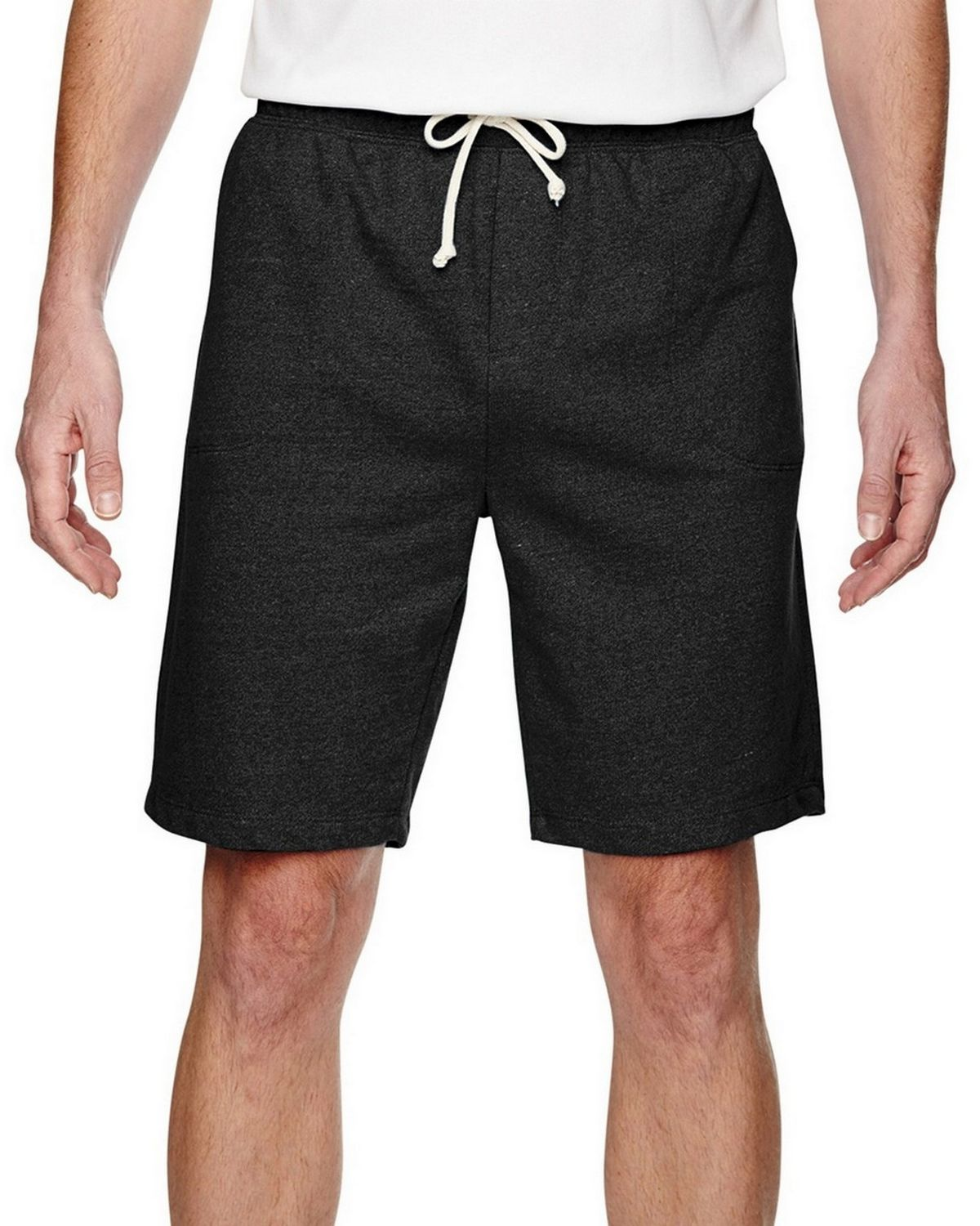 Alternative Mens Eco-Mock Twist Triple Double Short 05393e -Eco Black S 05393E