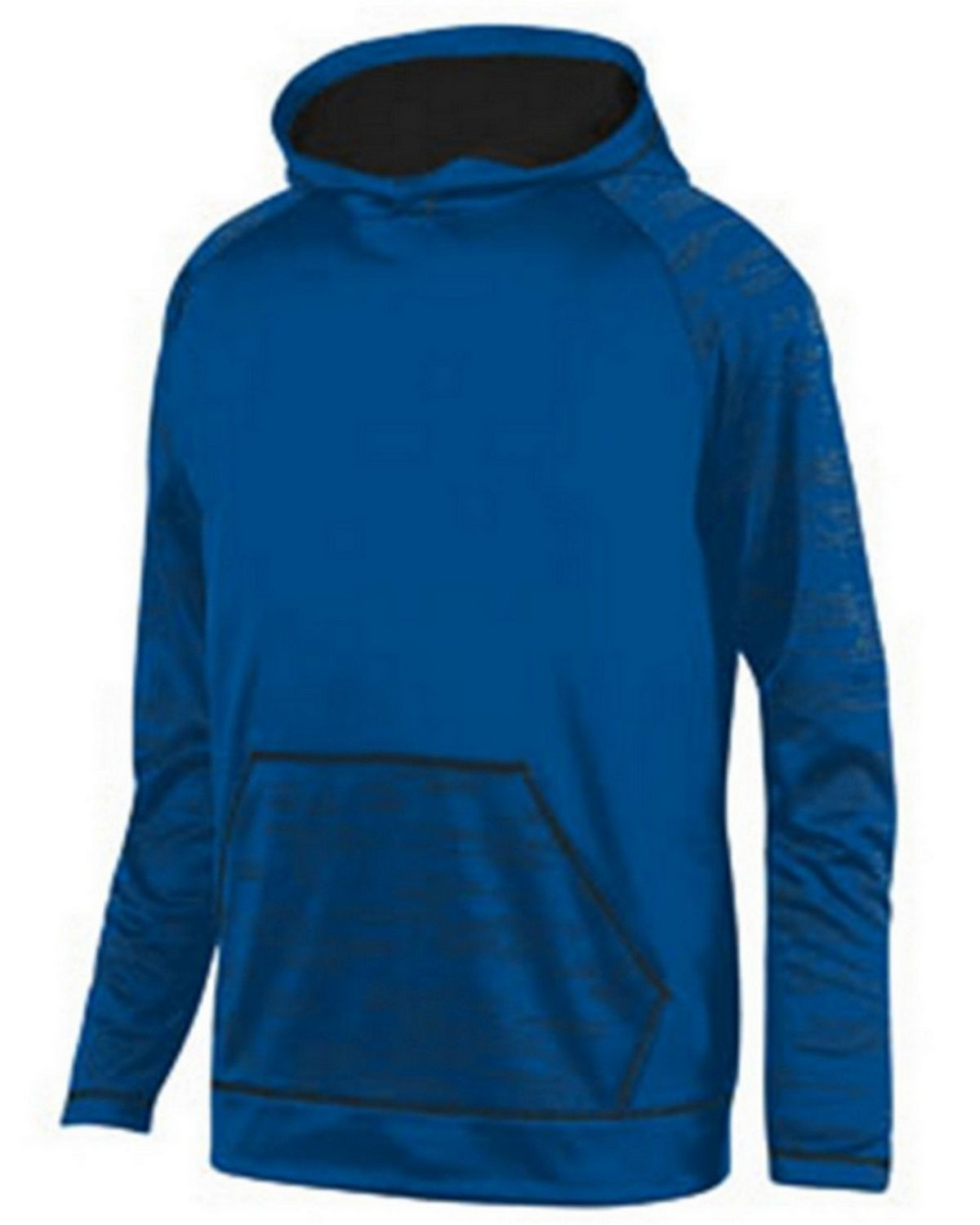 Augusta Sportswear 5533 Youth Sleet Hoody - Royal/ Black - M 5533