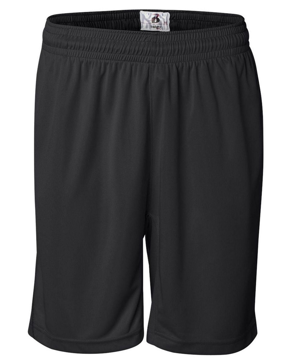 Badger 4110 Pocket Trainer Shorts White - Black - M 4110