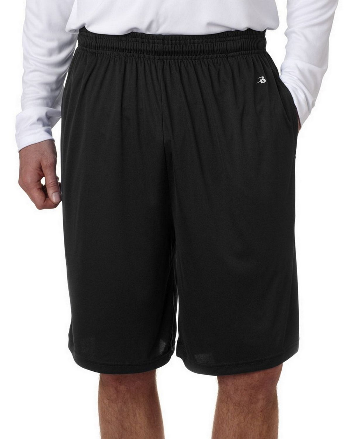 Badger 4119 BD Performance Shorts Pkt - Black - M 4119
