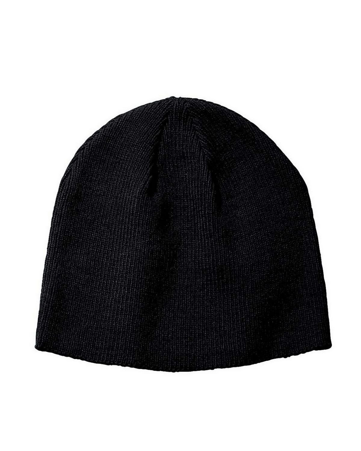 Big Accessories BX026 Knit Beanie - Red - One Size BX026