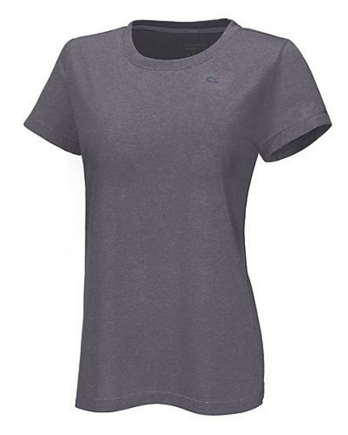Champion 7963 Vapor PowerTrain Short Sleeve Heather Tee - Granite Heather - S 7963