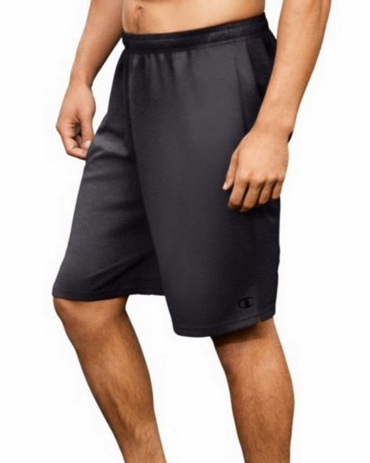 Champion 80296 Core Training Shorts - Granite Heather - S 80296