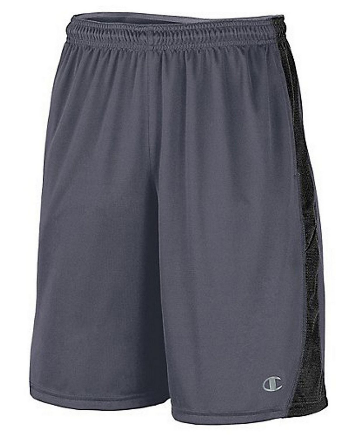 Champion 86703 Vapor PowerTrain Knit Shorts - Slate Grey/Black - S 86703