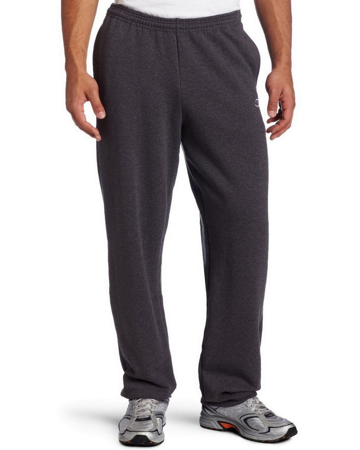 Champion P2519 Eco Relaxed Band Pant - Granite Heather - XXL P2519