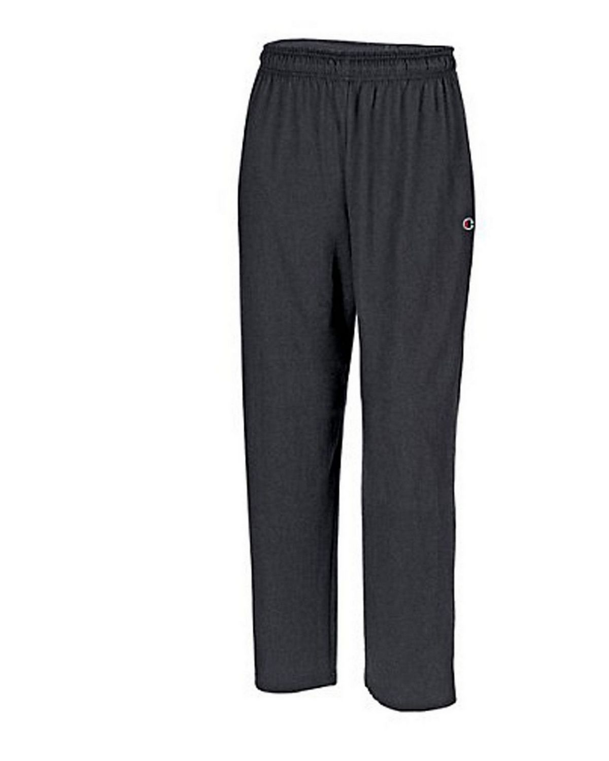 Champion P7309 Authentic Mens Open Bottom Jersey Pants - Granite Heather - XXL P7309