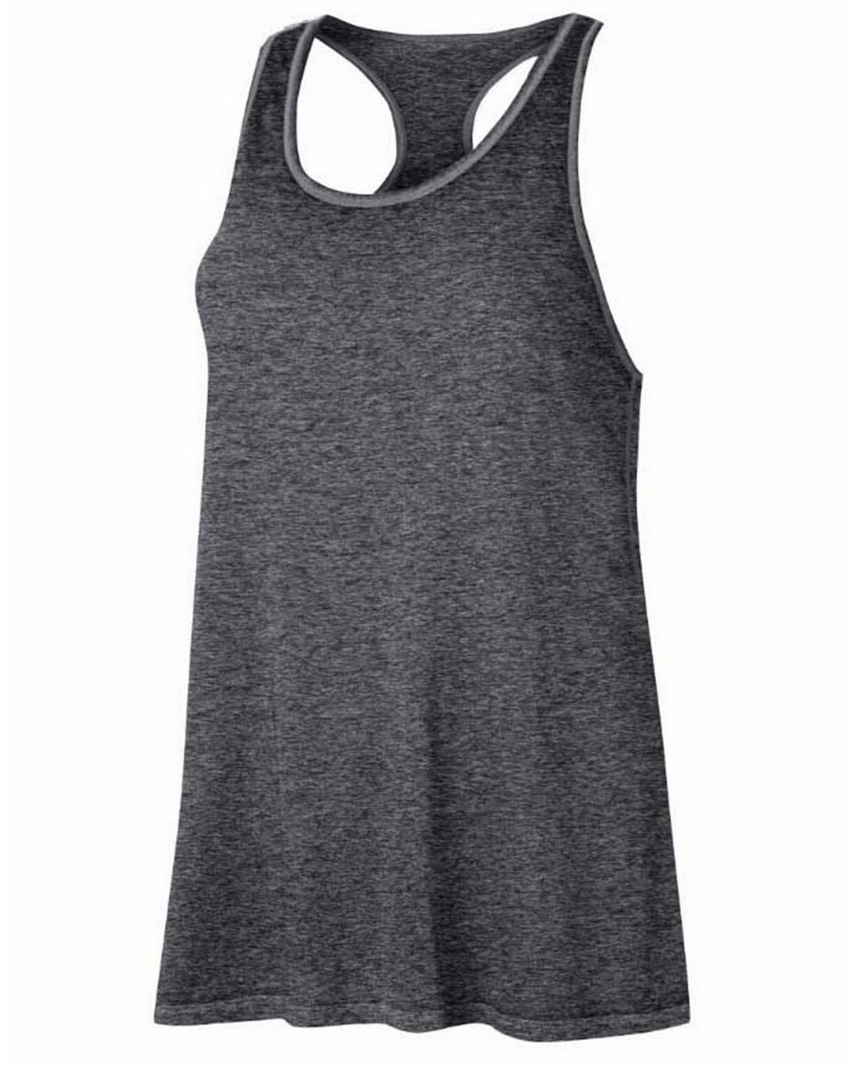 Champion W1044T Gear Womens Washed Tank - Granite Heather - L W1044T