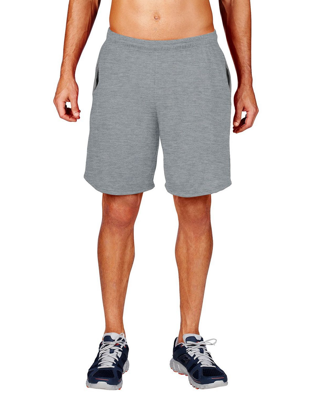 Gildan 44S30 Performance Adult 9 Shorts - Sport Grey - 3XL 44S30