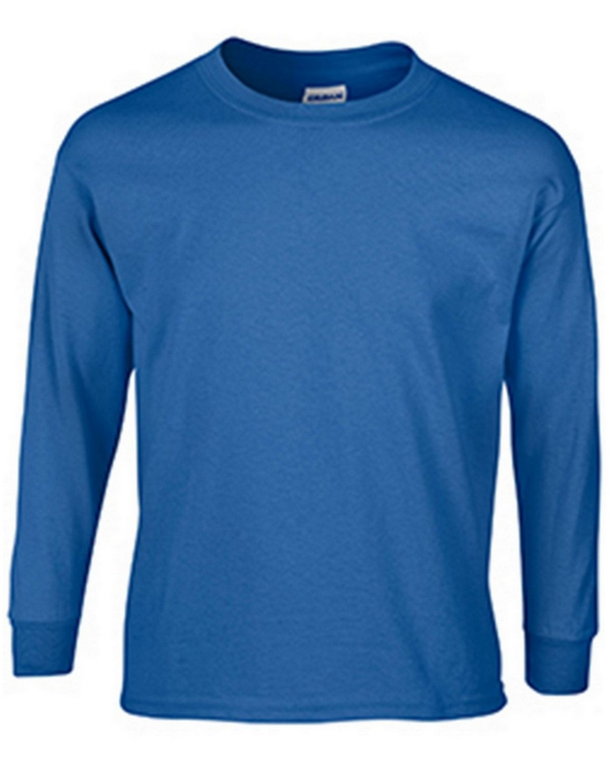 Gildan G2400B Youth Long Sleeve Tee - Royal - S G2400B