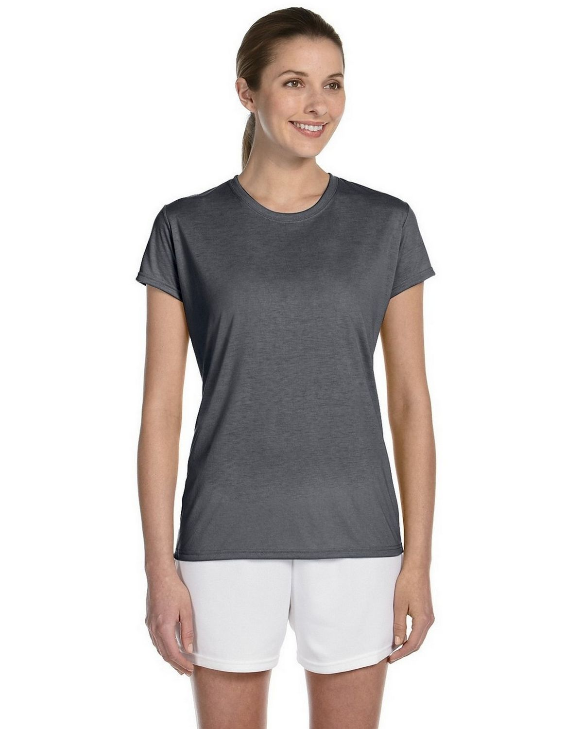 Gildan Womens Performance T-Shirt G420l -Sport Grey M G420L