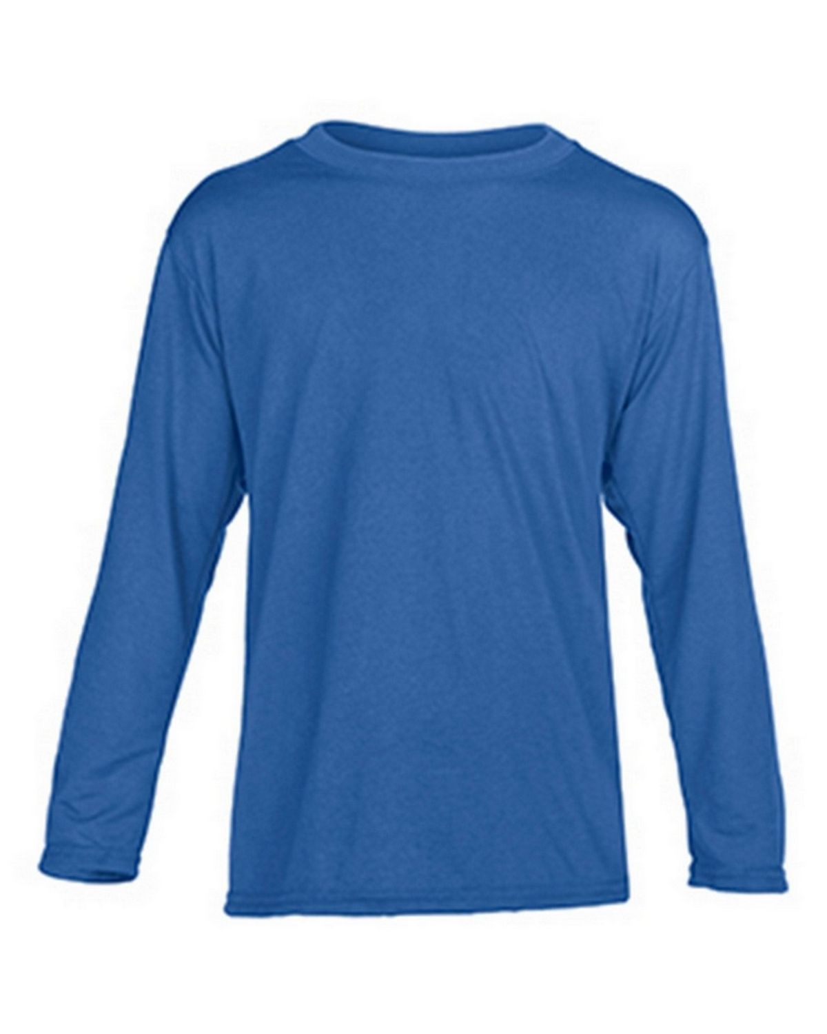 Gildan G42400B Youth Long Sleeve Tee - Royal - M G42400B