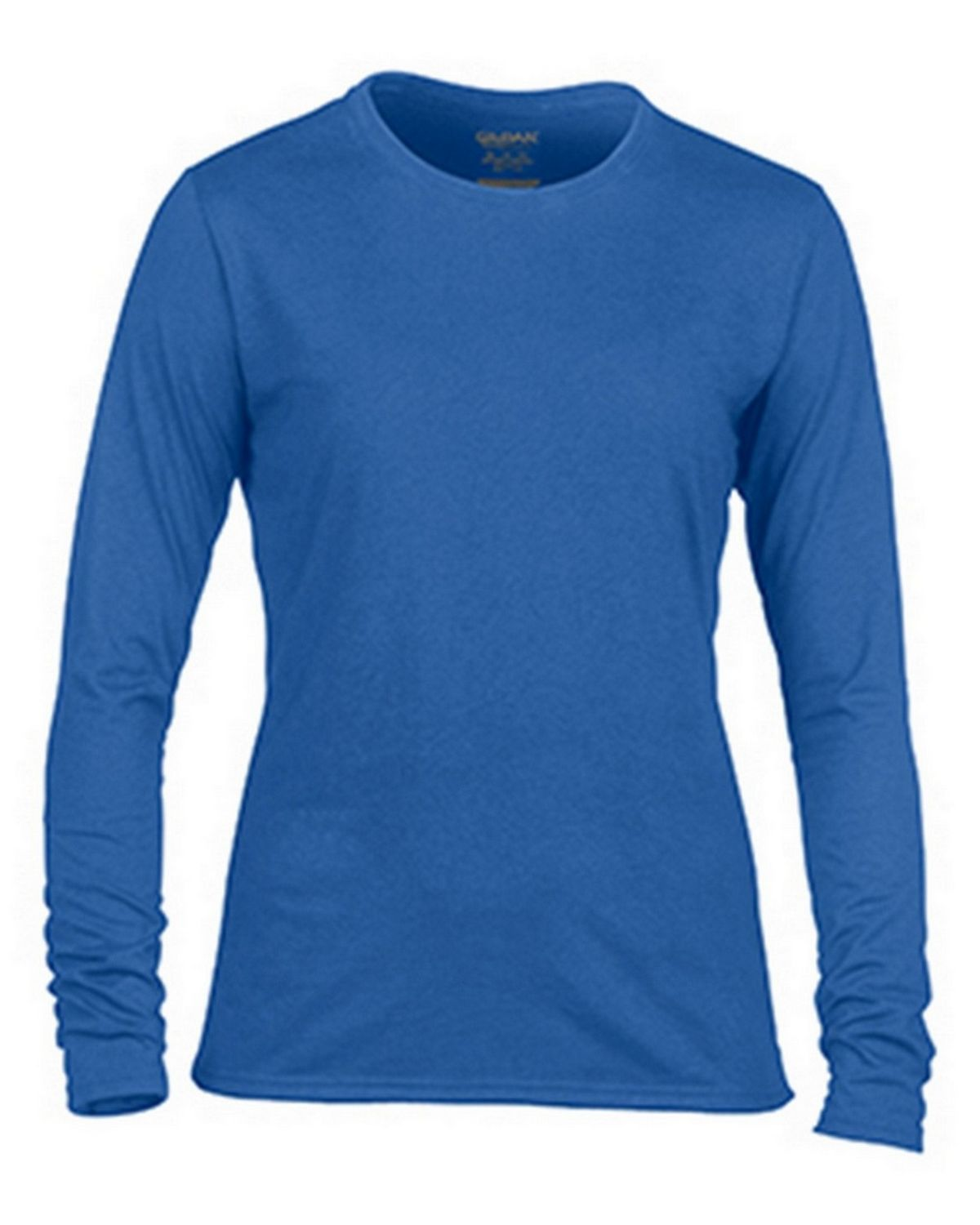 Gildan G42400L Ladies Long Sleeve Tee - Royal - 2X G42400L