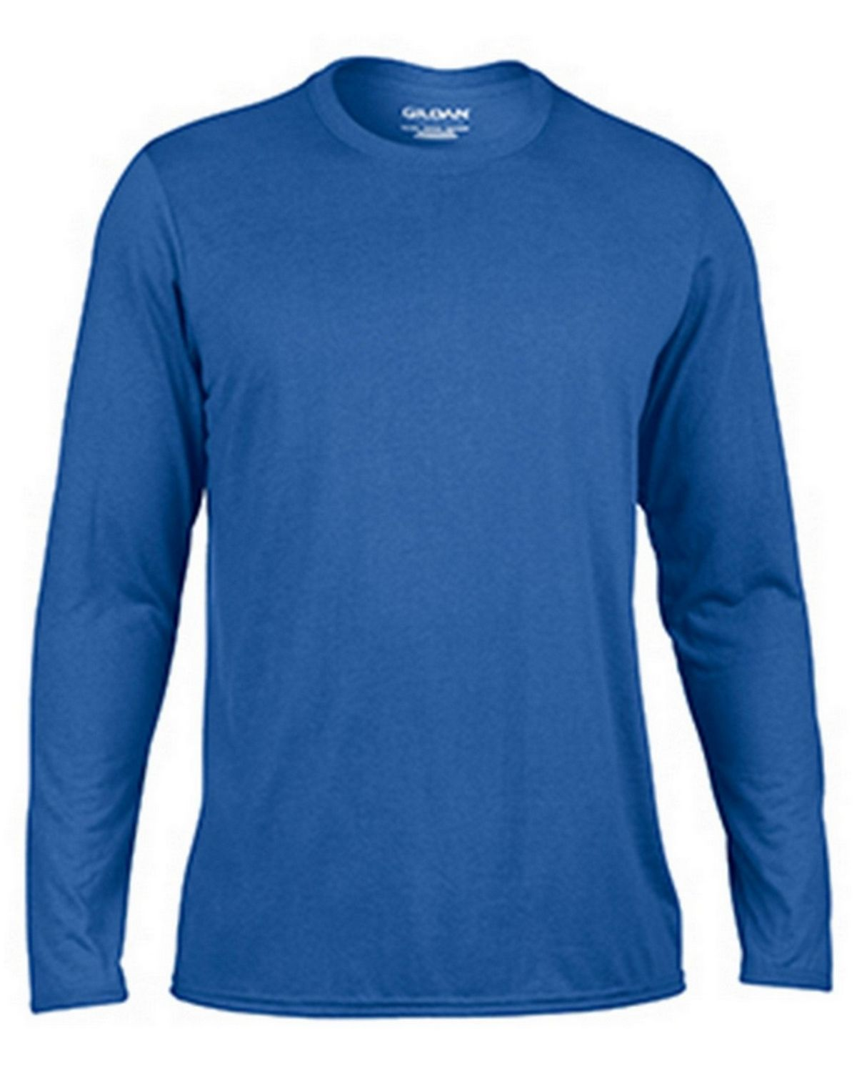 Gildan G42400 Adult Long Sleeve Tee - Royal - 3X G42400