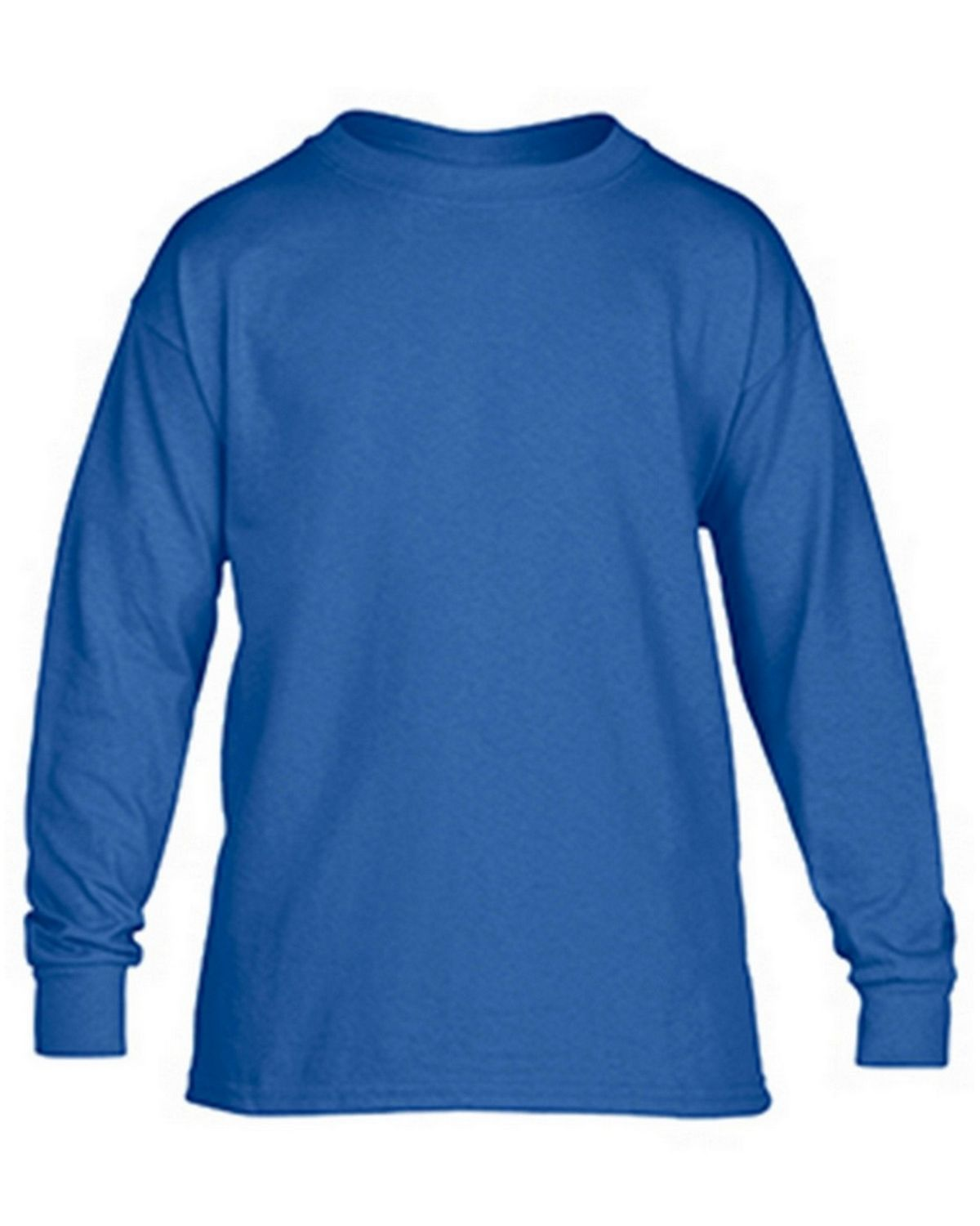 Gildan G5400B Youth Long Sleeve Tee - Royal - XL G5400B