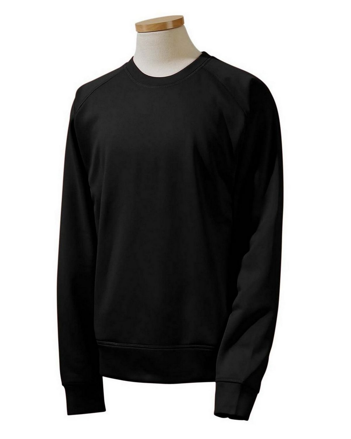 Russell Athletic 852EFM Tech Fleece Crew - Black - S 852EFM