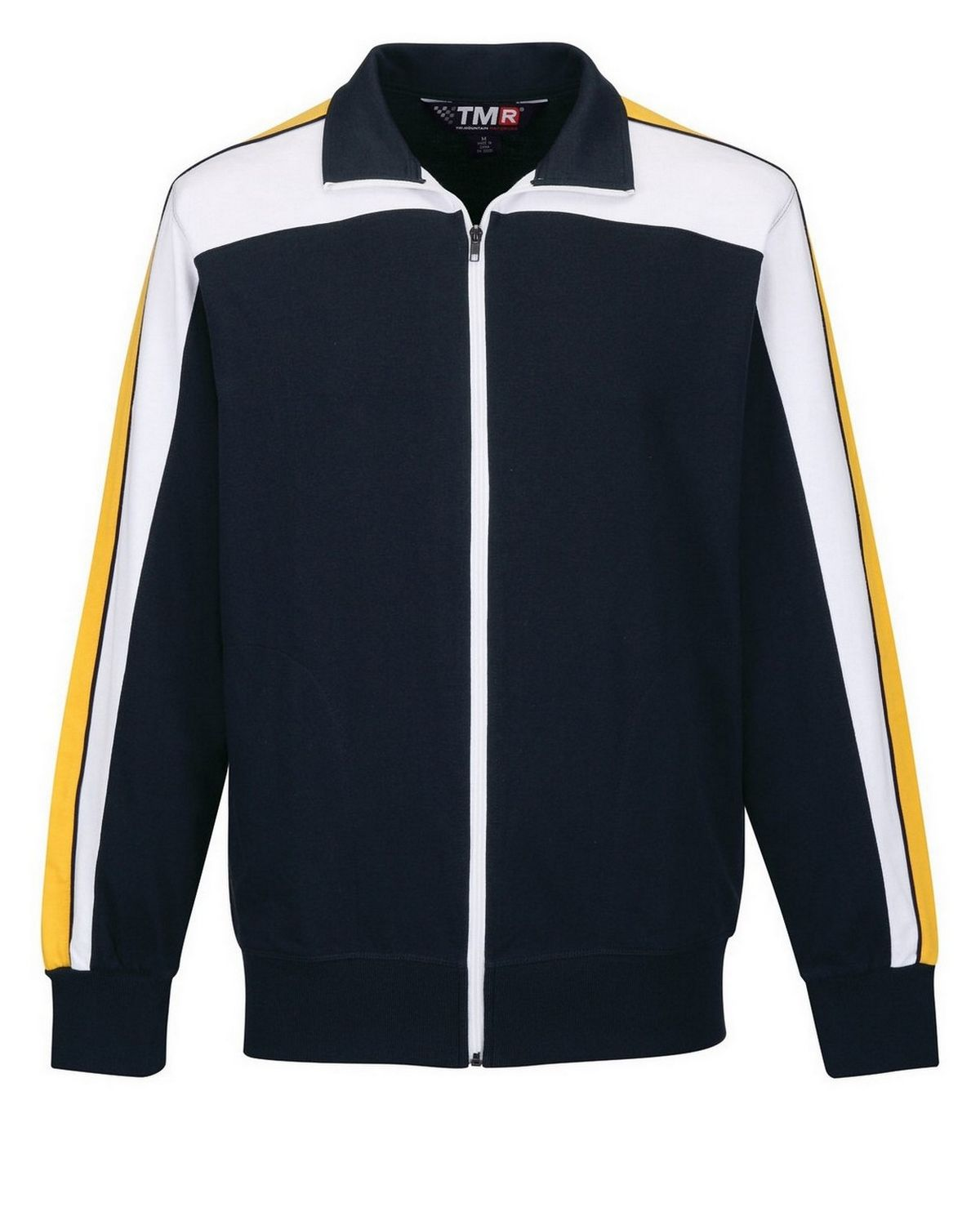 Tri-Mountain F635 Chicane - Navy/White/Yellow Gold - XL F635