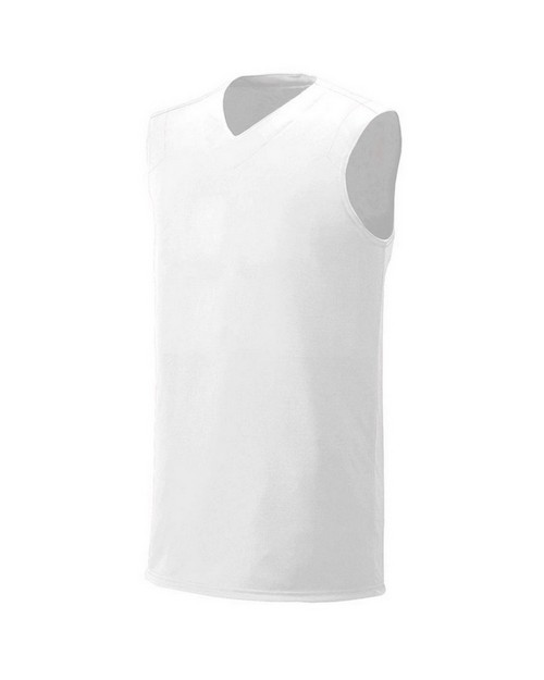 A4 NB2340 Youth Moisture Management V neck Muscle