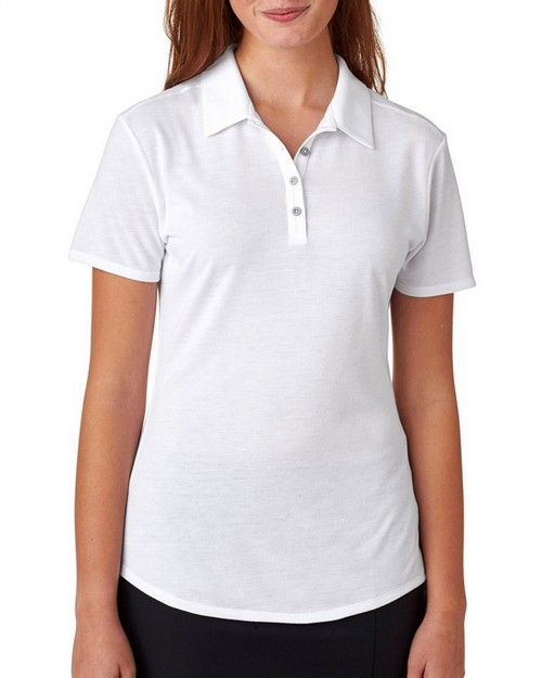 Adidas Golf A193 Adidas Ladies' Short-Sleeve Solid Polo