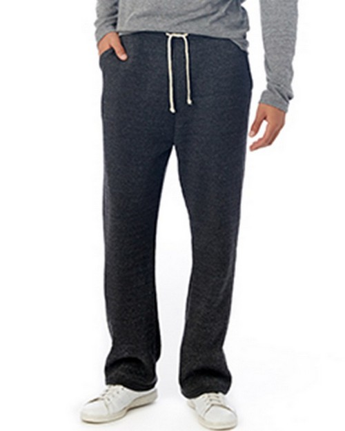 Alternative 3500F2 Mens Hustle Eco-Fleece Open Bottom Sweatpants