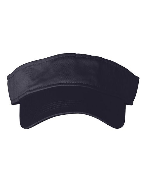 Anvil 158 Solid 3-Panel Low Profile Twill Visor Hat
