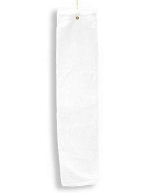 Anvil T68TH Tri-Fold Hemmed Hand Towel with Grommet
