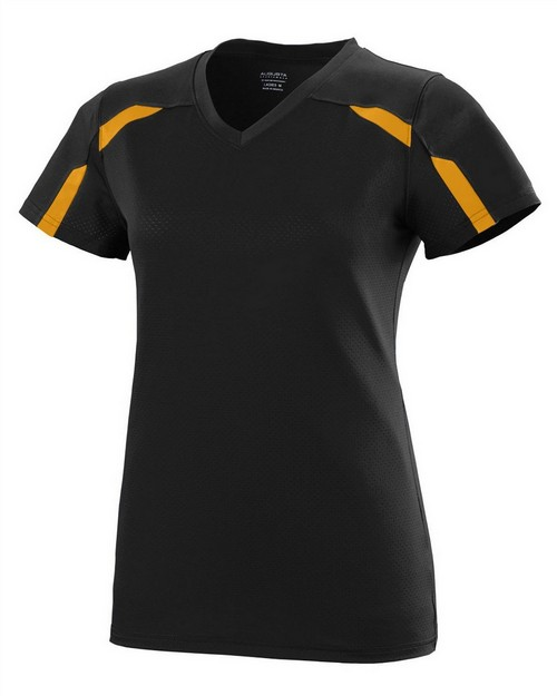 Augusta Sportswear 1002 Ladies Wicking Poly/Span Short-Sleeve T-Shirt