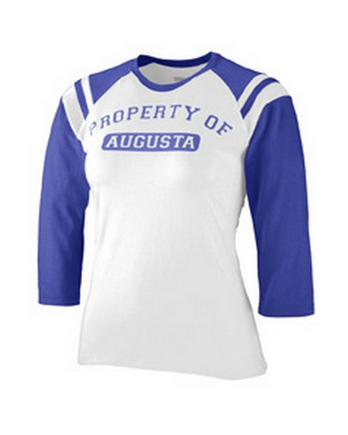 Augusta Sportswear 1258 Ladies Junior Fit Cotton/Spandex Legacy Tee