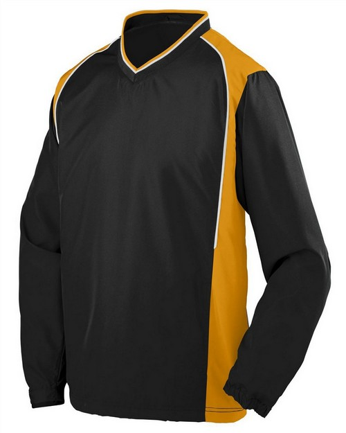 Augusta Sportswear 3745 Adult Water Resistant Polyester Diamond Tech V-Neck Pullover