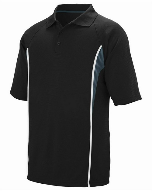 Augusta Sportswear 5023 Adult Wicking Polyester Mesh Sport Shirt with Contrast Inserts
