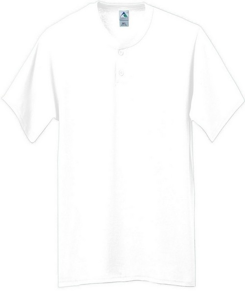 Augusta Sportswear 643 Six-Ounce Two-Button Baseball Jersey