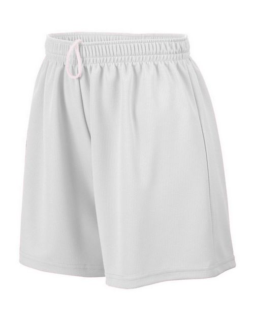 Augusta Sportswear 961 Girls Wicking Mesh Short