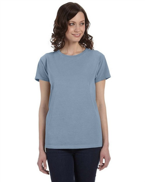 Authentic Pigment 1977 Ladies' 5.6 oz. Pigment-Dyed & Direct-Dyed Ringspun T-Shirt