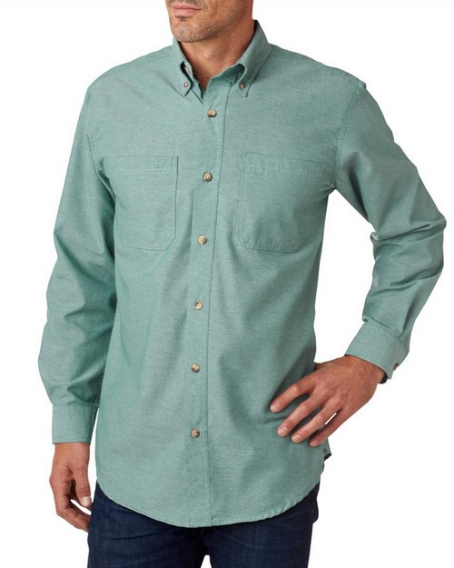 Backpacker BP7004 Men's Yarn-Dyed Chambray Woven