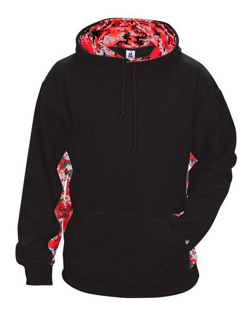 Badger 1464 Digital Color Block Performance Hoodie Pullover