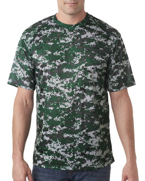 Badger 4180 Adult B-Core Digital Camo Tee