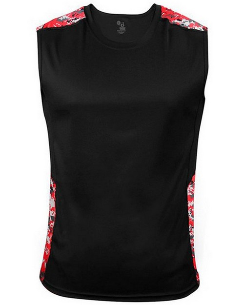 Badger B4532 Digital Sleeveless Tight Fit Tee