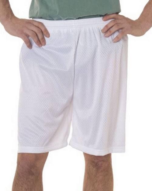 Badger B7207 Adult Mesh Tricot 7inch Shorts