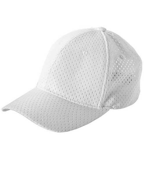 Big Accessories BX017 6-Panel Structured Mesh Baseball Cap