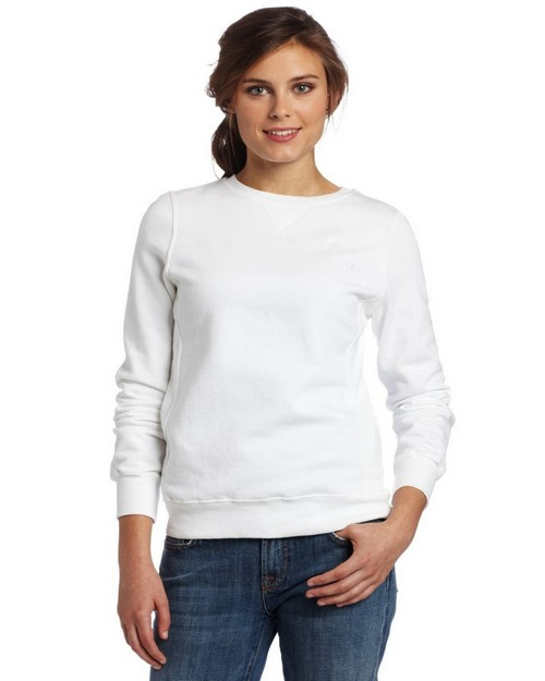 Champion 7651 Womens Eco Fleece Crew Tee