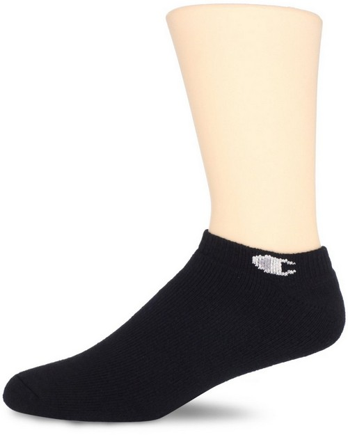 Champion CH1973P Double Dry Performance Low Cut Mens Athletic Socks (Pack of 3)