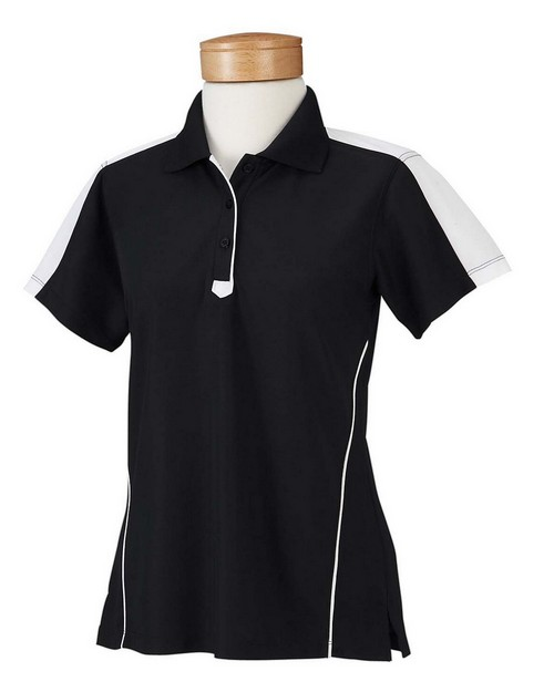 Chestnut Hill CH355W Ladies' Piped Technical Performance Polo