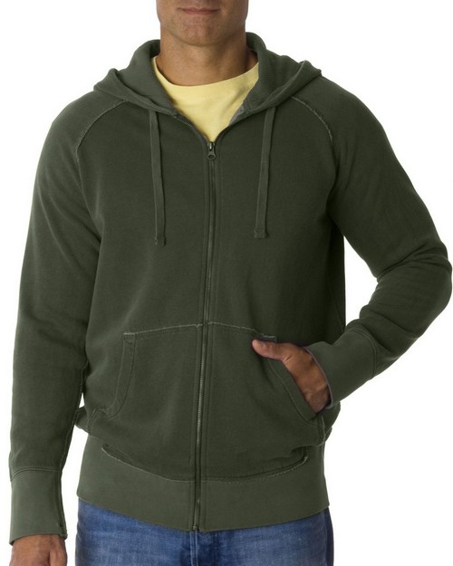 Chouinard 1564 Adult Garment Dyed Heavyweight Full Zip Hooded Sweatshirt