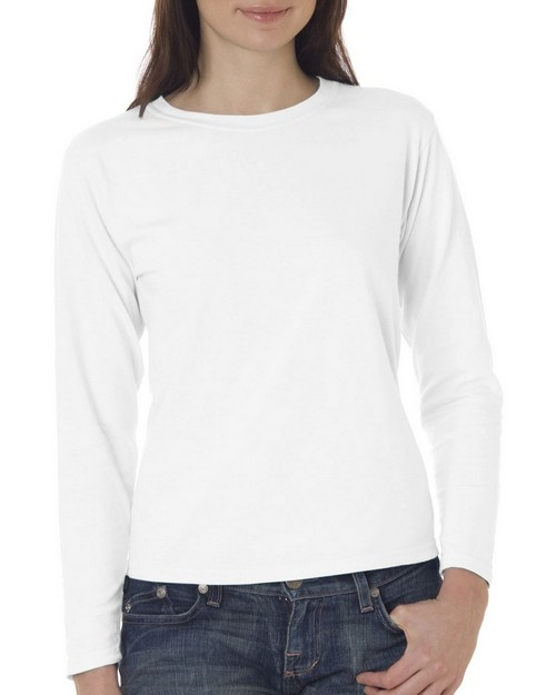 Chouinard 3014 Ladies Garment-Dyed Long Sleeve T-Shirt