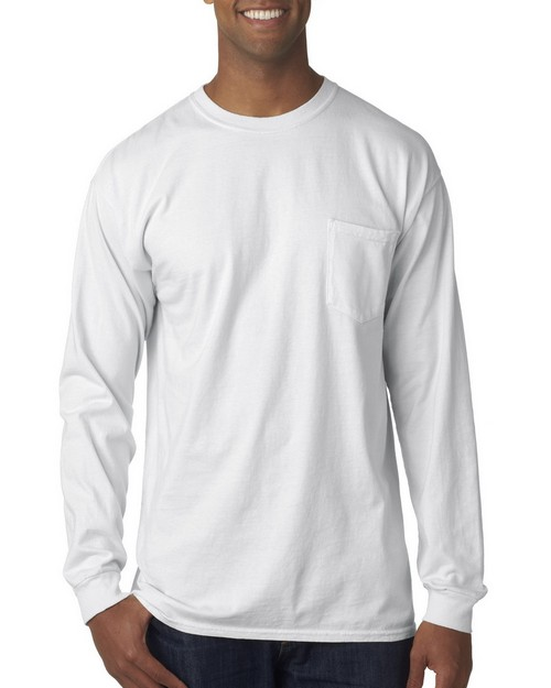 Chouinard 4410 Long Sleeve Heavyweight Cotton Pocket Tee