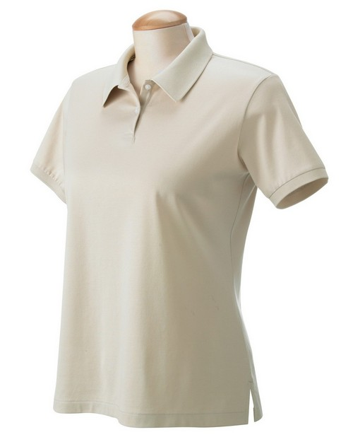 Devon & Jones D360W Ladies Malvern Jersey Solid Polo