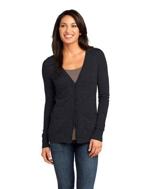 District Made DM415 Ladies Cardigan Sweater