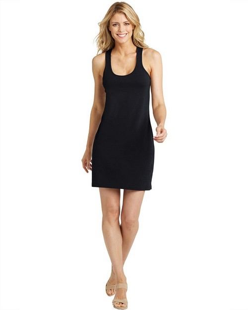 District Made DM423 Ladies Racerback Dress