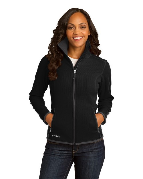 Eddie Bauer EB223 Ladies Vertical Fleece Jacket